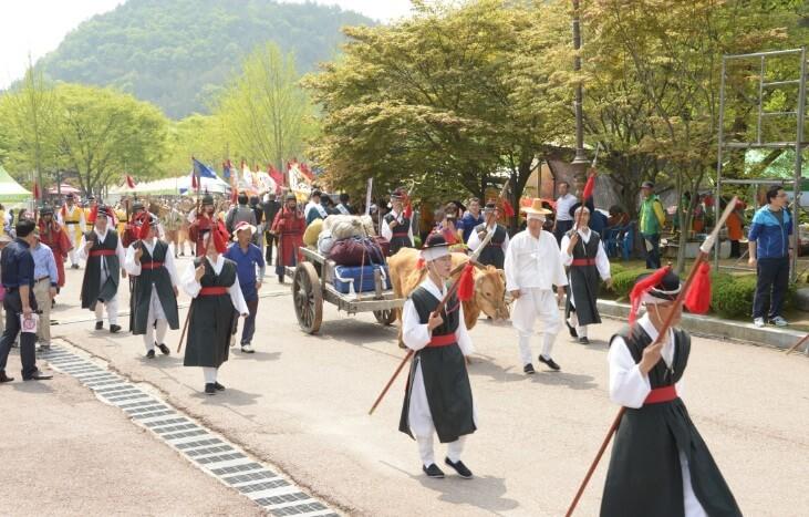용평 용문산 산나물축제
